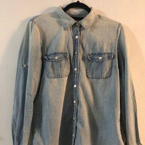 J.Crew Denim Button-Down Shirt